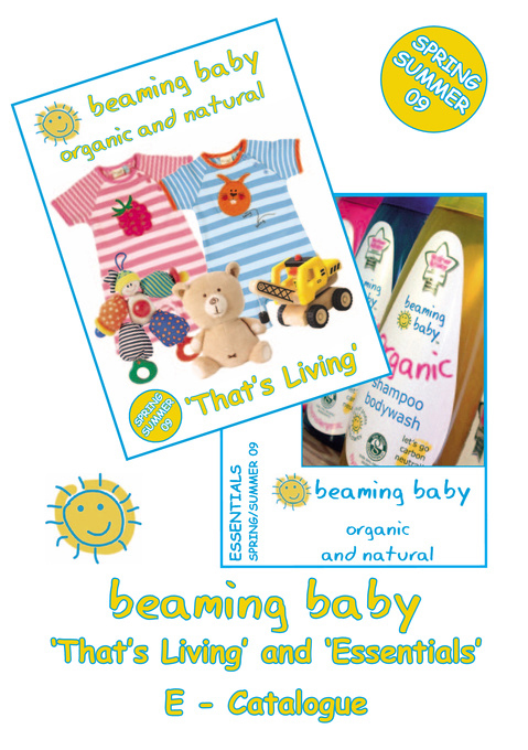 Beaming Baby - Spring / Summer 09 E-Catalogue