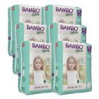 Clinically tested for skin irritation and allergy. Bambo XL Box, (size 5), (132 nappies), 6 packs, SAVE 10%