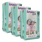 Nordic Swan certified - Bambo Nature Trainer Pants XXL (Size 6) 54 Pull-up Nappies (Case of 3)  - Bulk Buy and SAVE!