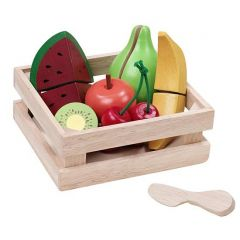 Wonderworld Fruit Basket Made with Non-toxic Paints and Laquers