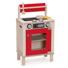 Made using sustainably harvested wood Beaming Baby Oven & Stove Wooden Toddler Toy 36 Months +
