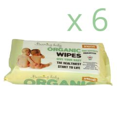 Beaming Baby Certified Organic Baby Wipes 6 Pack Save 5% (432 Wipes)