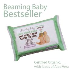 100% bio-degradable cloth Fragrance Free Organic Baby Wipes (72 wipes) Buy 11 and get one pack FREE!