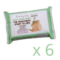 Fragrance Free Organic Baby Wipes 6 Pack Save 5% (432 wipes)