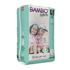 Nordic Swan certified - Bambo Nature Pull Up Trainer Pants XXL (Size 6) 18 Pull-up Nappies - Bulk Buy and SAVE!