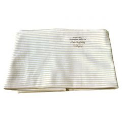 100% Softest Certified Organic Cotton Beaming Baby Chemical-Free Baby Blanket. Single Layer 75cm x 75cm